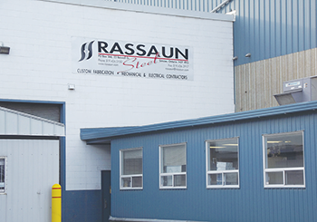 Photo of Rassaun Steel facilities