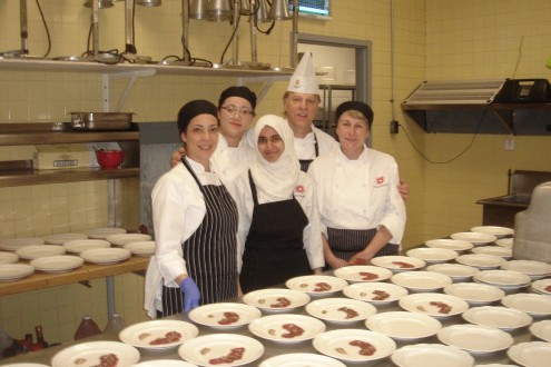 Fanshawe culinary faculty and students support