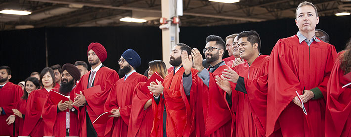 Group photo from Fanshawe College's 2019 Graduation
