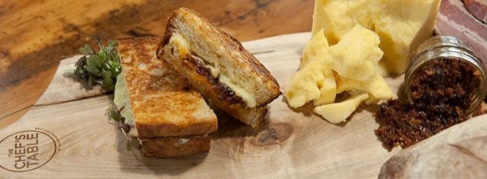 Improve your grilled cheese