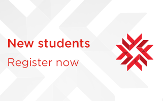 New students - Register now