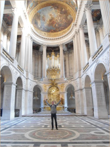 Exchange student at Versailles