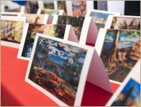 photo of art cards