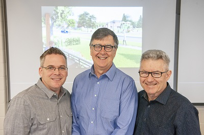 Photo of Russell Schnurr, William Pol and Steve Ries