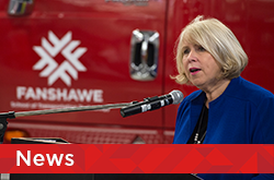 Deputy Premier and London North Centre MPP Deb Matthews