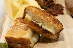 Grilled cheese served at The Chef's Table