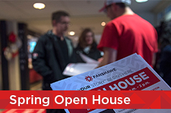 Spring Open House, March 24, 2018