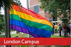 Fanshawe kicks off Pride celebrations with flag raising