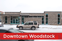 Downtown Woodstock site
