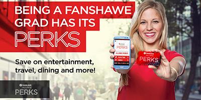 Get your Fanshawe Alumni PERKS!