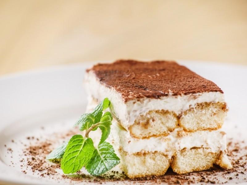 Image of tasty tiramisu