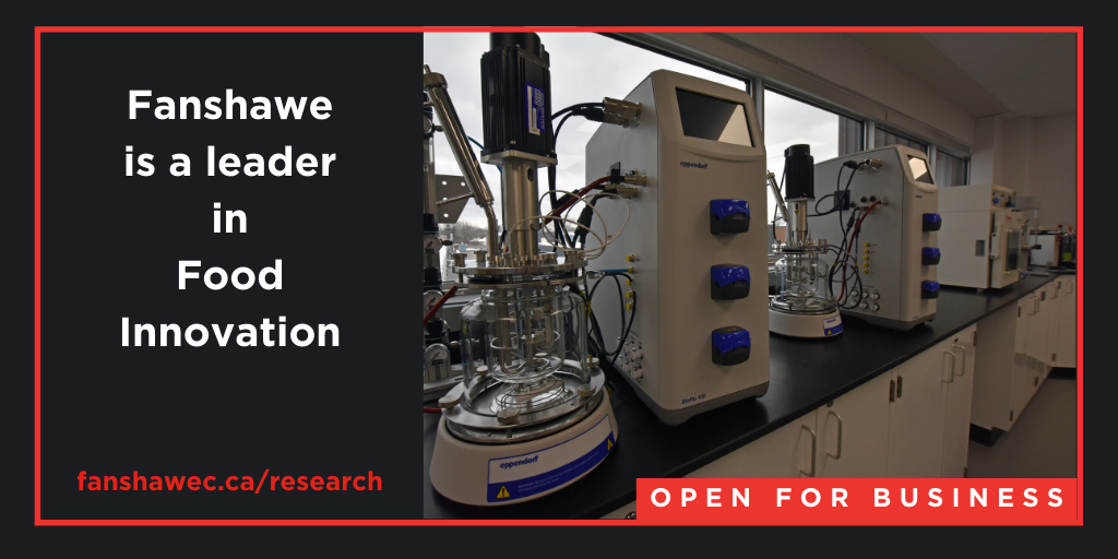 Fanshawe is a leader in food innovation: our CARIB labs are open for business