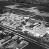Aerial photo of Fanshawe College, 1980s