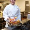 Culinary student Sarah Potter, 2009