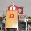 Harry Rawson at Graduation, 1980s