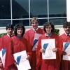 Graduation 1984: Paul Biasotto, Rita Ceccaci, Bill Hube, Gail Ahern, Mike Dentinger