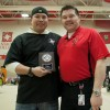 Jan. 2013 Student of the Month Greg Ireland with FNC Manager Kevin Lamure