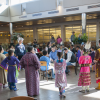 Dancers at the Fall Equinox Gathering, Oct. 23, 2014