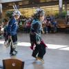 Mason Sands, Andy Thomas (dancers), Fall Equinox Gathering, Oct. 23, 2014