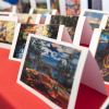 Art cards at the Indigenous Music, Arts and Culture Celebration