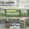 Conceptual site masterplan in Colinton, AB