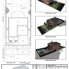 Site plan and 3D visualization of a single detached house