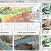3D analysis of the Thames River using GIS
