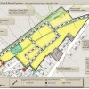 Conceptual land use plan for a development in Shedden, ON