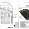 Conceptual site plan of proposed cluster townhouse development