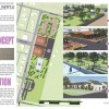 Design concept and 3D renderings for a proposed site
