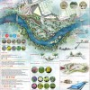 Poster Presentation for 3rd Year Design Studio Project Re-envisioning the former South Street Hospital Lands in London, ON