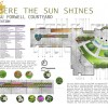 Sustainable Courtyard Design at Fanshawe College for 2nd year Design Studio