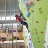 Climbing wall in the Student Wellness Centre