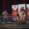 Graduates from Fanshawe's Music Industry Arts program take to the stage to entertain the crowd.