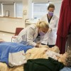 Dental Hygiene students in simulation lab