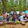 AEL1J students camping