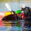 AEL1J students kayaking