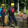 AEL1J students: practicing water rescue