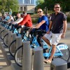 Whether it is walking or biking, second year students tour the city of Chicago, IL.