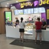 Photo of Booster Juice bar in the Student Wellness Centre