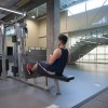 Photo of student working out in the Student Wellness Centre