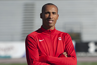 Photo of Damian Warner