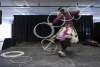 Hoop dance by Nimkii-nini (Thunder-man)