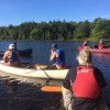 AEL1J students canoeing