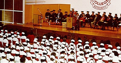 Early Nursing graduation ceremony