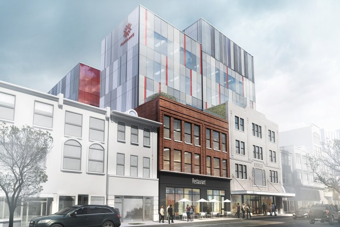 Rendering of future Fanshawe building in downtown London