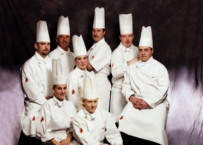 Photo of Culinary Olympics team, 1996
