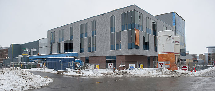 Photo of Wellness Centre under construction