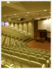 Photo of lecture theatre