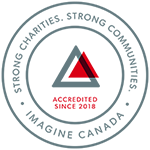 Imagine Canada: Strong Charities. Strong Communities. Accredited since 2018.